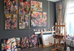 Interieur Galerij Marcel Herms Deventer