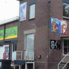 We dwalen af, schilderij voor De Hondenkoekjesfabriek in Nieuw Leusen,