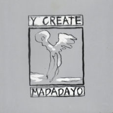 art and design for Madadayo by Y Create, front cover, released on EE Tapes, Belgium