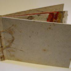 vogels, gemengde techniek, 17,8 x 25,5 cm (pagina's in verschillende formaten)