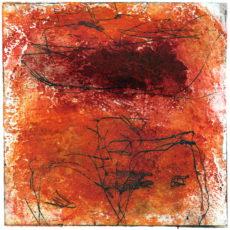 Hades (I), kleurets, 15,3 x 15,3 cm, 2000