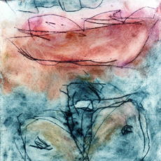 Hades (II), kleurets, 15,3 x 15,3 cm, 2000