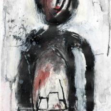 Homeboy, gemengde techniek op papier, 16,2 x 27,6 cm, 2014