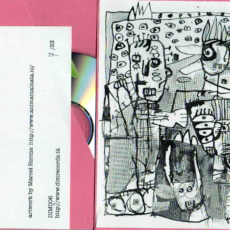 Artwork for Origami Statika – Fucking Hell, released by Dim Records in two different covers