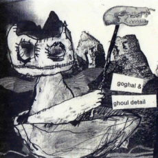 Goghal & Ghoul Detail split CD, released by Smell The Stench, Australia