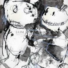 luim en waarheid, gemengde techniek op boekpagina, 24,8 x 31,5 cm, 2016