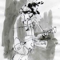 too much too soon, inkt op papier, 19 x 27 cm, 2007