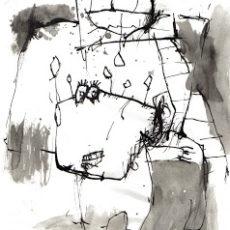 Zielenschip, inkt op papier, 21 x 29,7 cm, 2006