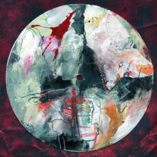 D.U.M.B. (everyone's accusing me), mixed media on 7 inch vinyl record, 2020