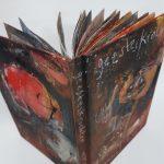 01 back and front cover Geesteskrochten, artist book, mixed media, 18,7 x 26,2 x 2,5 cm, 2021