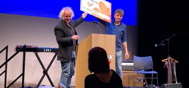 Deventer Cultuur Talentprijs 2021 voor uitgeverij petrichor